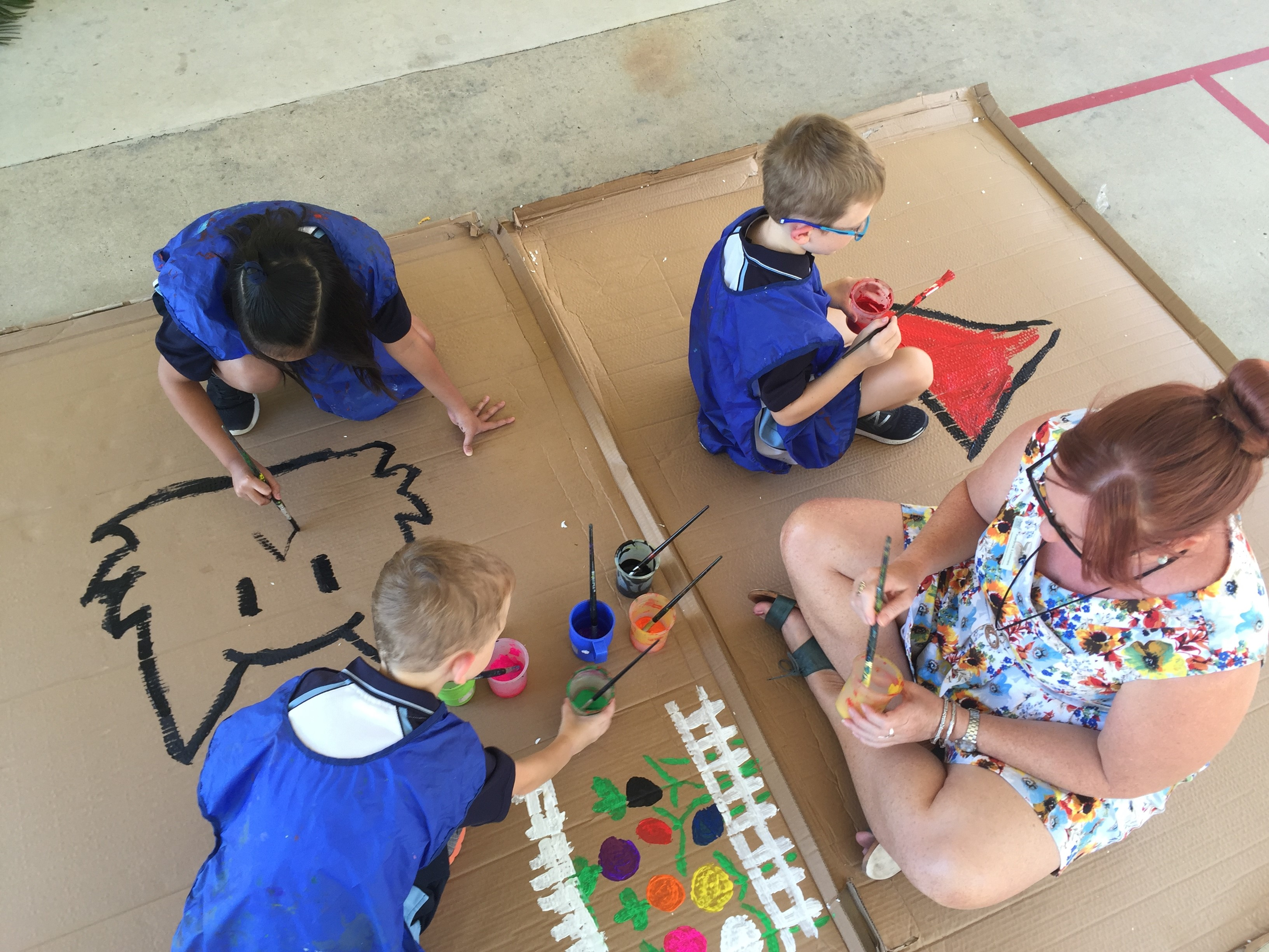 Painting in the Playground